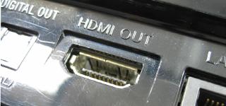 HDMI Buchse Reparatur
