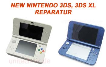 New Nintendo 3DS und 3DS XL Reparatur