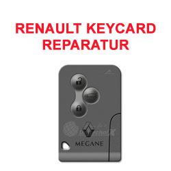Renault KeyCard Reparatur