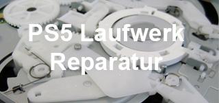 PS5 Laufwerk Reparatur